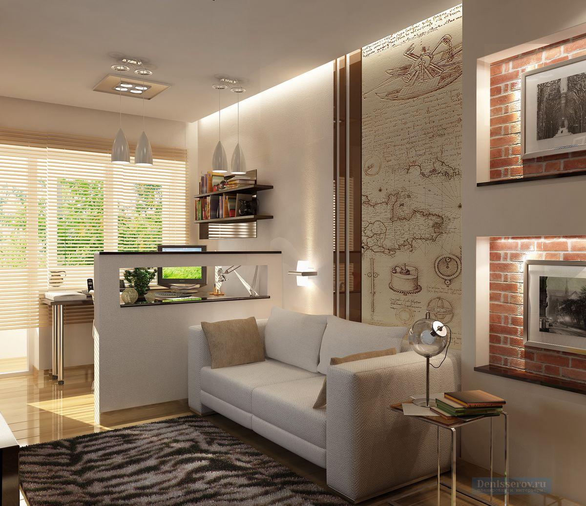 простой дизайн двухкомнатной квартиры фото уже