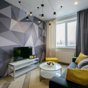 двухкомнатная квартира хрущёвка фото интерьера