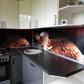фартук для кухни из мдф фото идеи