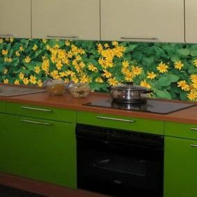 фартук для кухни из мдф фото дизайна