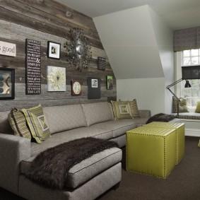 Угловой диван модульного типа