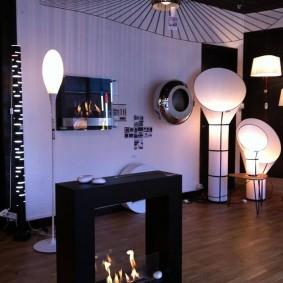Напольные светильники оригинального дизайна