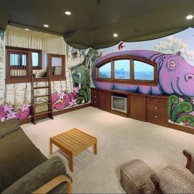 Дизайн комнаты с детскими фотообоями