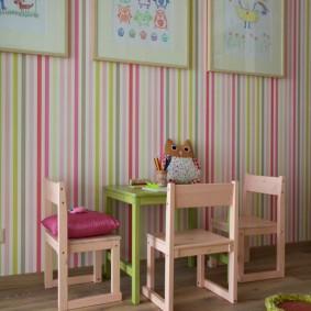деревянные стульчики для маленьких детей
