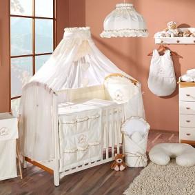 Комплект принадлежностей для новорожденного ребенка