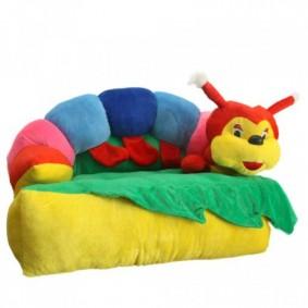Кресло-игрушка в виде гусеницы