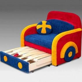 Кресло-кровать раскладной конструкции
