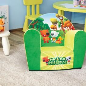 Мягкое кресло серии Мими Мишки