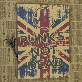 Ретро постер на фоне старых газет