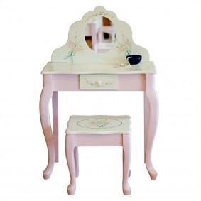 комплект детской мебели из туалетного столика со стульчиком