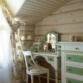 Детская комната в срубовом доме