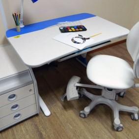 Ортопедический стул с двойной спинкой