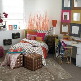 Интерьер детской комнаты для девочки подростка