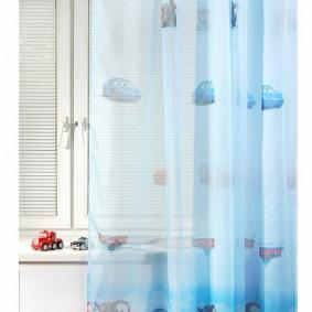 Нежный тюль для детской спальни