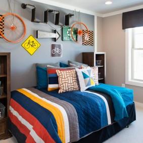 Декор комнаты для мальчика школьного возраста
