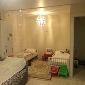 Уголок для ребенка в маленькой квартире