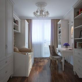 Дизайн небольшой комнаты для девочки-подростка