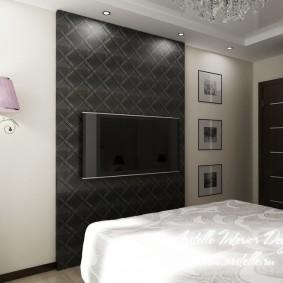 Телевизор в спальной комнате родителей