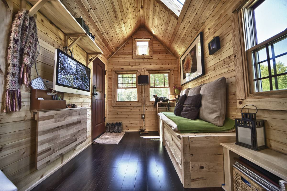 деревьями идеи для деревянного дома фото этой