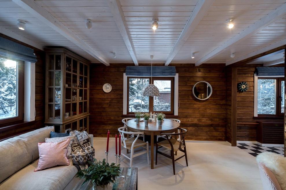 потолок в деревянном доме картинки двигало желание стать