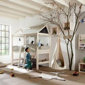 Игровая комната для мальчика школьника