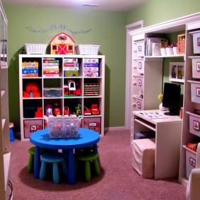 Хранение игрушек в детском учреждении