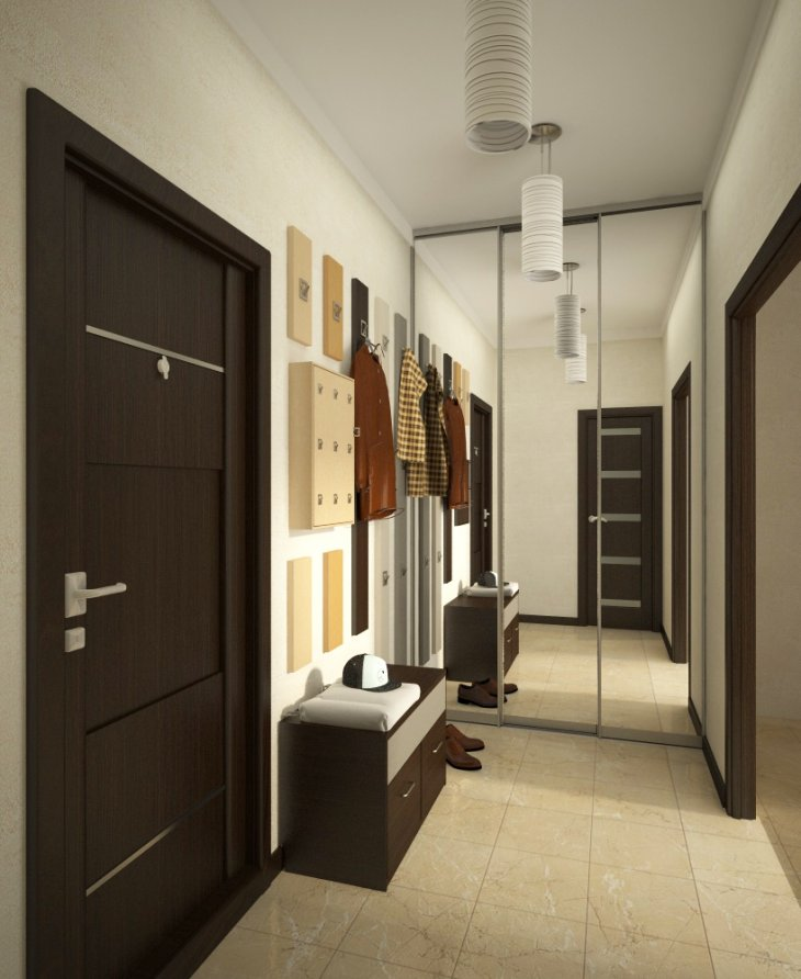 ячейках сверху коридор в однокомнатной квартире дизайн фото вот