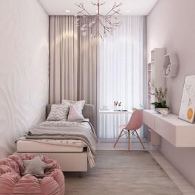 Уютная комната для маленькой девочки