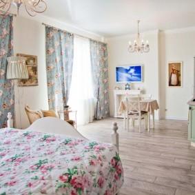 Французский прованс в интерьере квартиры
