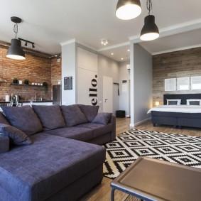 Мягкая мебель с текстильной обивкой