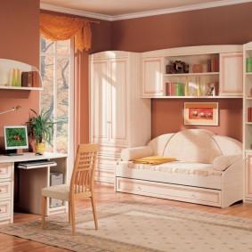 Стильная мебель для современной детской комнаты