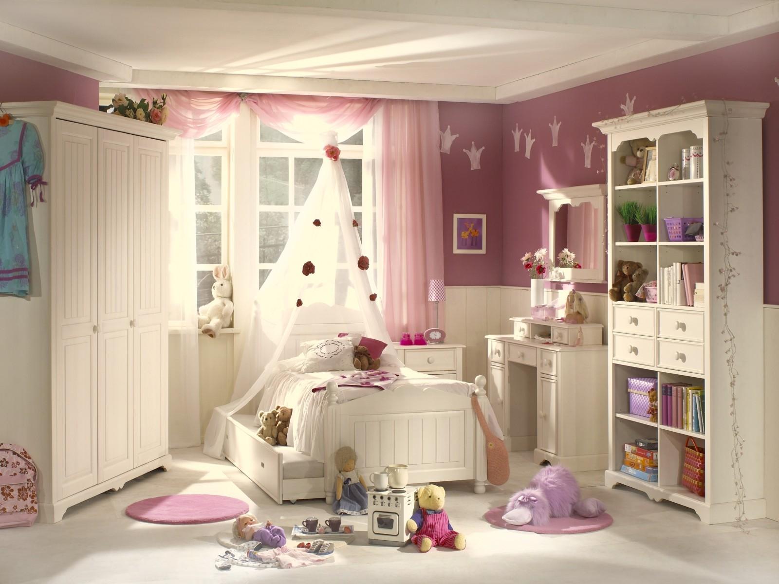 Картинки детская комната для девочки