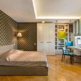 Стильная мебель в комнате девочки подростка