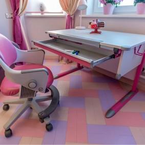 Современная мебель-трансформер для детей школьного возраста