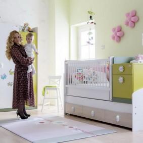 Многофункциональная мебель для комнаты маленького ребенка