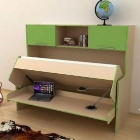 Шкаф-кровать для мальчика школьного возраста