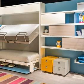 Комбинированная мебель в детскую комнату