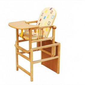 Детский стульчик для кормления младенца