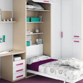 Набор трансформирующейся мебели для девочки школьницы