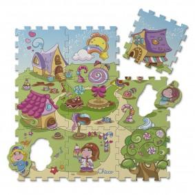 Сказочный коврик для детской комнаты
