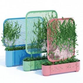 Передвижные стойки для создания вертикального сада