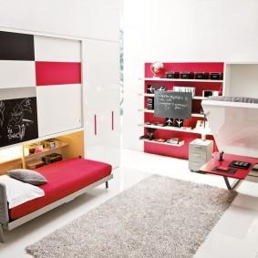 Мебель-трансформер для двоих подростков