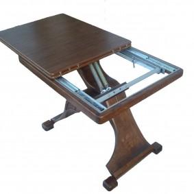 Раскладной механизм стола-трансформера