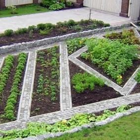 Планирование огорода на садовом участке