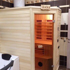 Настоящая баня в условиях квартиры