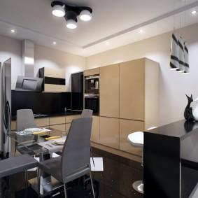 Кухонные стулья серого цвета