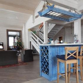Мебель для гостиной в деревенском стиле