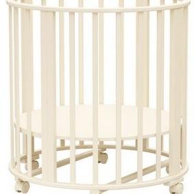 Манеж для младенца из кроватки-трансформера
