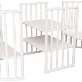 Кровать-трансформер с дополнительной секйией