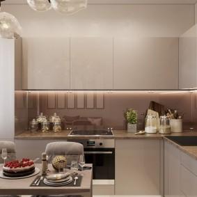 Кухонный гарнитур в стиле минимализма